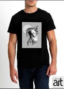 T-shirt Life Is Art z krótkim rękawem