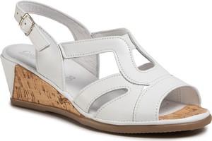 Sandały Comfortabel ze skóry w stylu casual