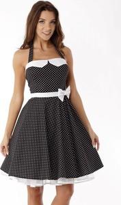 Sukienka Ella Dora bez rękawów z bawełny gorsetowa