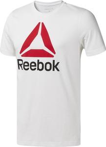 T-shirt Reebok Fitness z nadrukiem