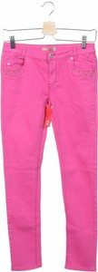 Różowe jeansy dziecięce Lisa Rose