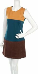 Sukienka I&d Colors z okrągłym dekoltem