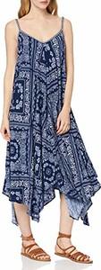 Sukienka amazon.de z dekoltem w kształcie litery v maxi