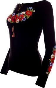 Jk collection damska bluzka z długim rękawem