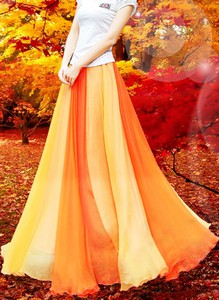 Żółta spódnica Sandbella