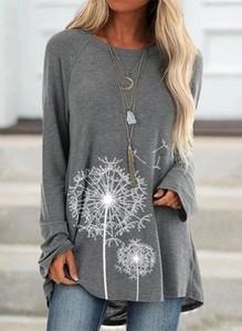 Bluzka Sandbella z okrągłym dekoltem