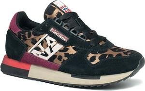 Sneakersy Napapijri z płaską podeszwą