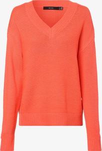 Pomarańczowy sweter Vero Moda w stylu casual
