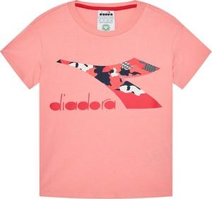 Koszulka dziecięca Diadora z krótkim rękawem