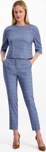 Niebieska bluzka Lavard z tkaniny
