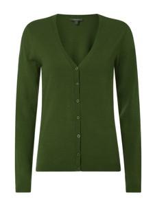 Zielony sweter Montego z bawełny w stylu casual