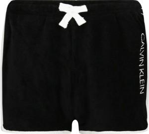 Czarne spodenki dziecięce Calvin Klein