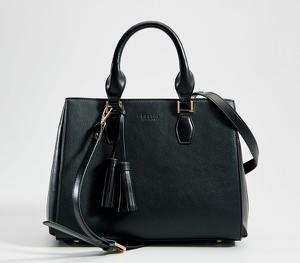Czarna torebka Mohito matowa średnia do ręki