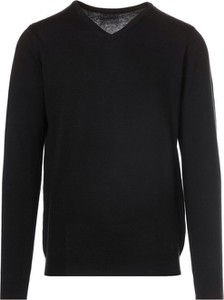 Czarny sweter Multu w stylu casual