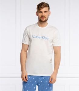 T-shirt Calvin Klein Underwear w młodzieżowym stylu z bawełny z krótkim rękawem