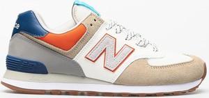 Buty sportowe New Balance 574 z nubuku sznurowane