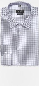 Granatowa koszula Recman z bawełny