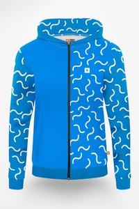 Bluza Power Canvas w młodzieżowym stylu z bawełny
