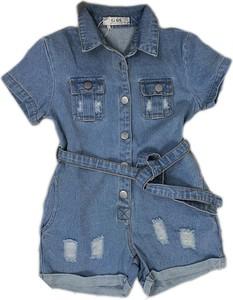 Niebieski kombinezon dziecięcy Petit Boutique - Moda Dziecięca