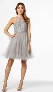 Sukienka Mascara bez rękawów z dekoltem halter mini