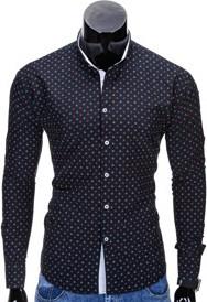 Czarna koszula Ombre Clothing