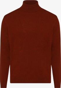 Pomarańczowy sweter Andrew James w stylu casual z kaszmiru