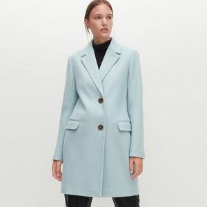 Miętowy płaszcz Reserved
