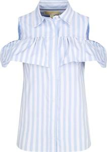 Niebieska bluzka Michael Kors