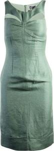 Zielona sukienka Fendi na ramiączkach