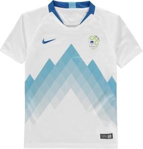 Błękitna koszulka dziecięca Nike