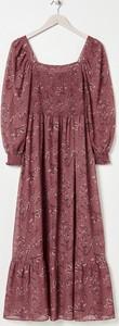 Sukienka Sinsay z okrągłym dekoltem