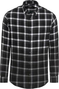 Czarna koszula Only & Sons w stylu casual z klasycznym kołnierzykiem