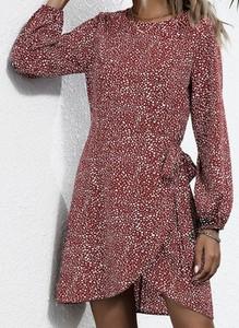 Sukienka Cikelly sportowa z długim rękawem w stylu casual