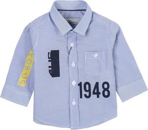 Niebieska koszula dziecięca Paciotti dla chłopców