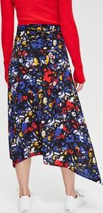 Spódnica Diverse z tkaniny midi w stylu boho