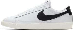Buty męskie Nike Blazer Low Leather - Biel