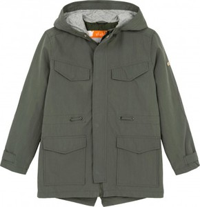 Zielona kurtka dziecięca Endo