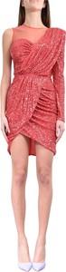 Sukienka Elisabetta Franchi z tiulu mini