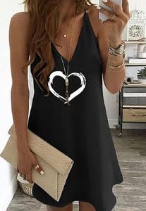 Sukienka Cikelly mini w stylu casual