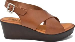 sandały damskie skórzane rozmiar 42 stylowo i modnie z Allani