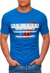 T-shirt Edoti w młodzieżowym stylu