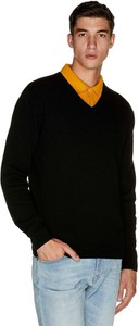 Czarny sweter United Colors Of Benetton w stylu casual