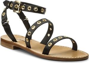 Sandały twinset z klamrami w stylu casual