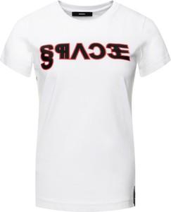 T-shirt Diesel w stylu casual z okrągłym dekoltem z krótkim rękawem