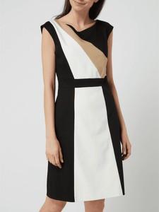 Sukienka S.Oliver Black Label z bawełny z dekoltem w kształcie litery v bez rękawów