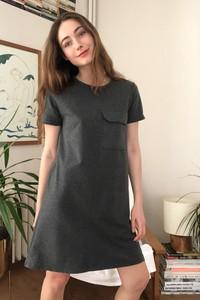 Sukienka Trendyol prosta w stylu casual z okrągłym dekoltem