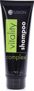Dedra 4 FUSION szampon dla odżywienia włosów vitality complex, 200 ml