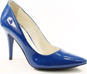 Niebieskie szpilki Red w stylu klasycznym na wysokim obcasie na szpilce