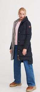 Granatowy płaszcz Reserved