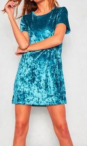 Sukienka Arilook mini z dresówki z krótkim rękawem